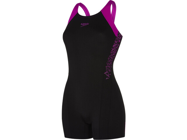speedo Boom Splice Legsuit Dame black/diva